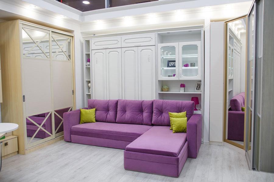 шкаф кровать с угловым диваном 1 028 заказать в киеве недорого в